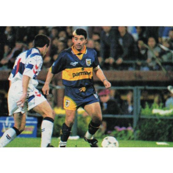 El dios del futbol. Maradona.
