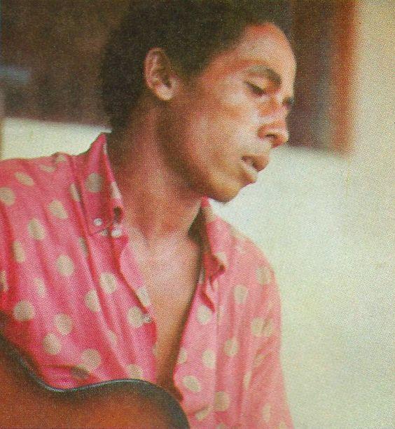 BOB MARLEY, mid-sixties...