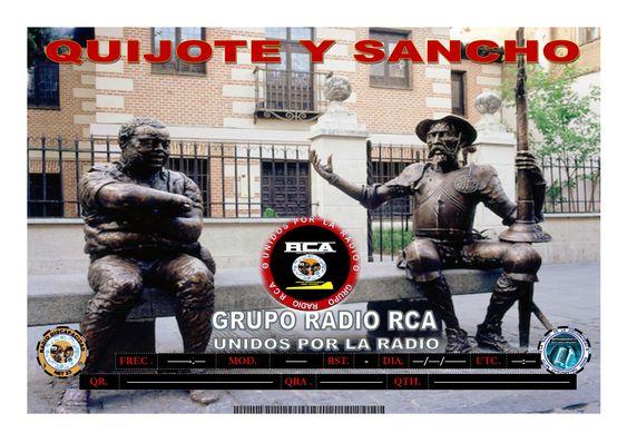 Nuevo Diploma para ser activado (Quijote y Sancho)