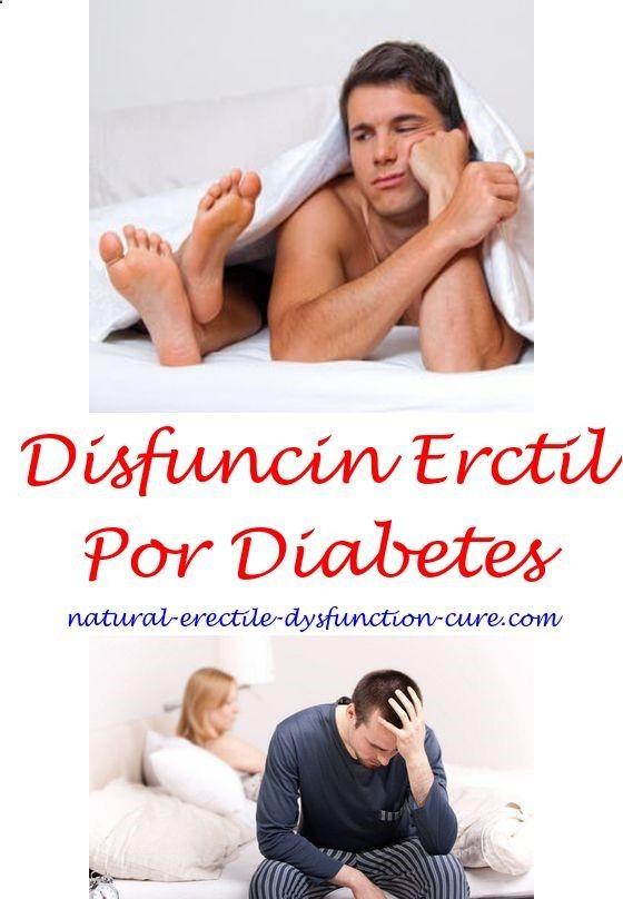 como combatir la disfunción eréctil por diabetes