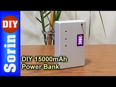 Diy Fast Charging 15000mah Power Bank With Salvaged Batteries Youtube Powerbank Diy Electrical Power