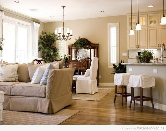 Paredes de salas de estar pintadas de colores 12