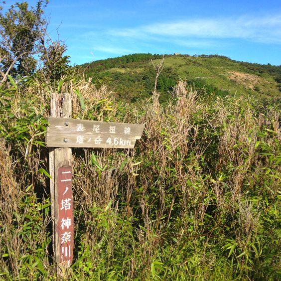 丹沢表尾根 ニノ塔山頂