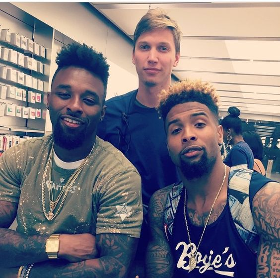 Jarvis Landry Girlfriend Odell Beckham Jr. And ...