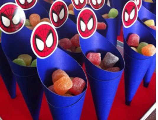 Dulces Mesa Spiderman Party Pinterest Mesas And Stickers