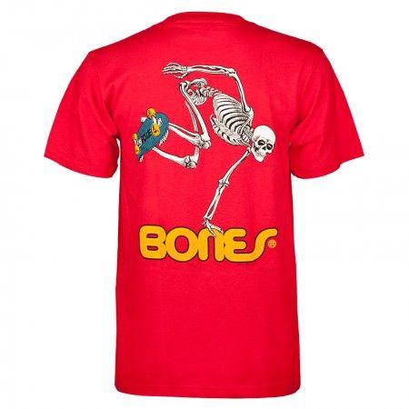 Powell-Peralta Skate Skeleton T-shirt - Red
