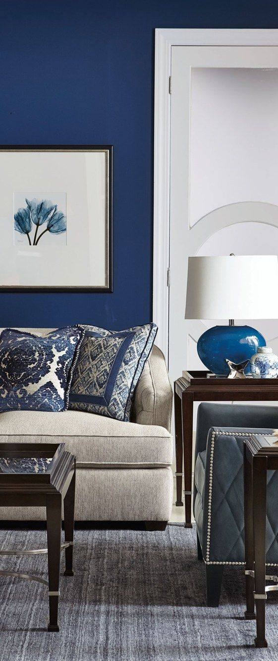 5 Ways To Decorate With Blues Grays Small Apartment Living Room Small Living Room Decor Apartment Living Room