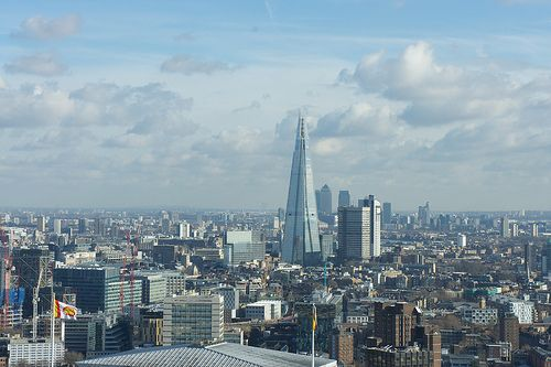 The Shard from the London Eye x
