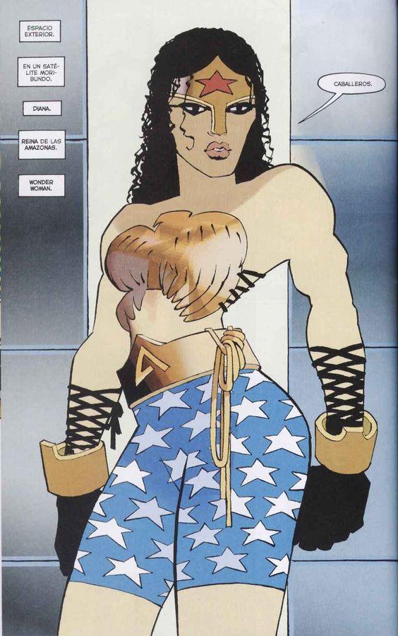 Wonder Woman - DK2 by Frank Miller