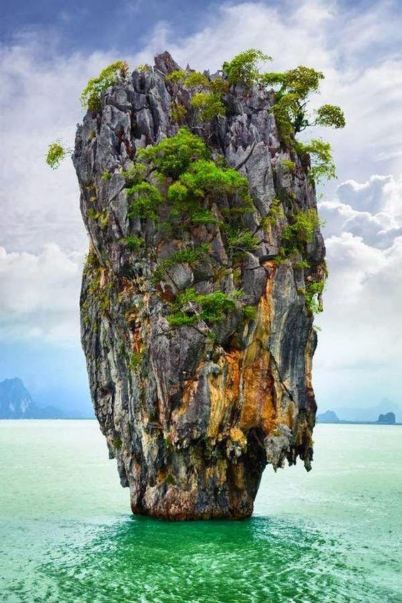 Kao Ping Kan Island, Ao Phang - nga National Park,Thailand