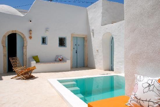 Dar Gafsa es un maravilloso hotel tunecino que podemos encontrar en la costa. Sus colores mediterráneos hacen de él un lugar maravilloso do...