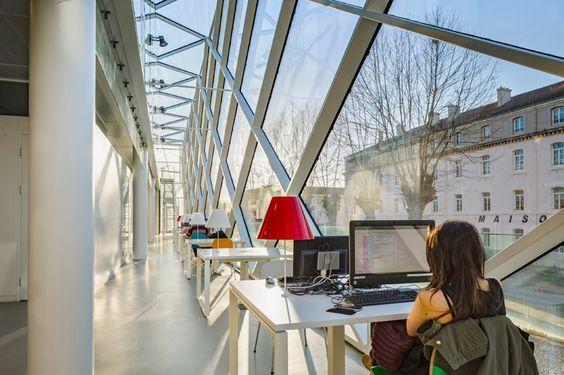 archi5 mont de marsan mediatheque marsan media library designboom