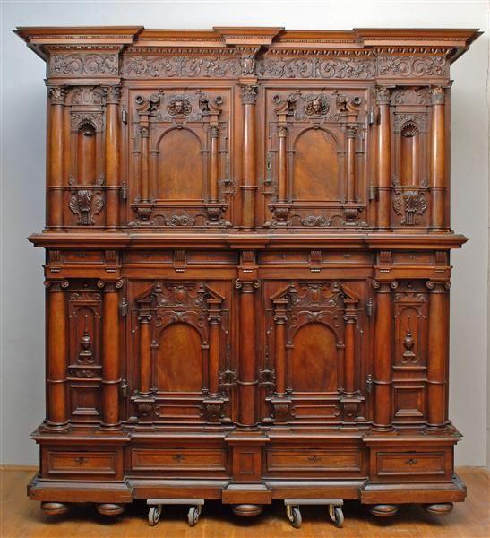 Fassadenschrank 5 Teilig Skd Online Collection Echtholz Mobel Antike Mobel Barock Mobel
