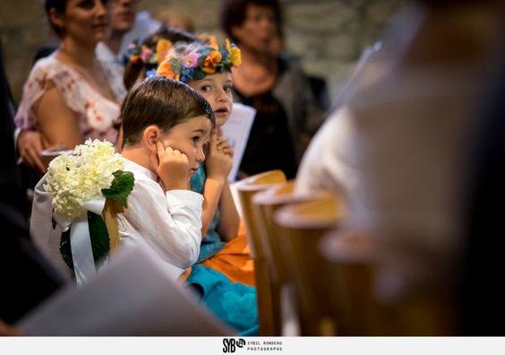Reportage de la cérémonie catholique d'un mariage franco iranien à l'église Sainte Claire d'Escoublac