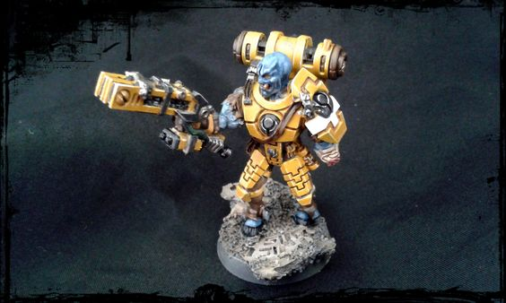 It´s the Greater Good Deep Strike Veteran from wargameexclusive.com - An awesome miniature! Check out their webside to see their awesome wargame related miniatures!