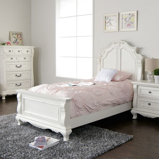 Amelia Bedroom Collection Jerome S Furniture White Bedroom Set White Bedroom Furniture Girls Bedroom Sets