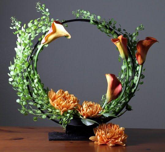 Calla Lily Plant Centerpiece