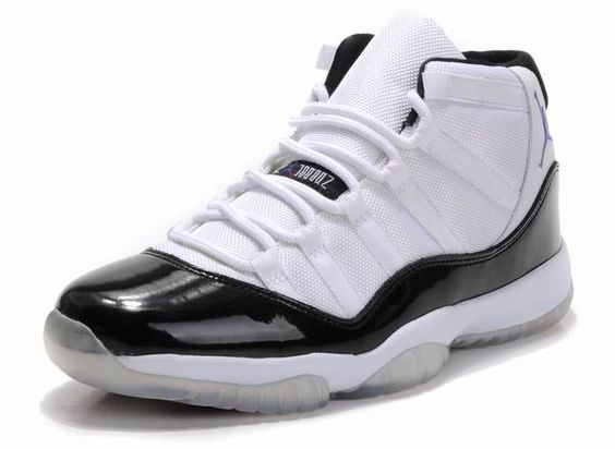 Air Jordan 11 Retro Concord White Black Purple