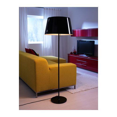 KULLA Candeeiro de pé IKEA Intensidade regulável; controle a intensidade da luz de acordo com as ocasiões.