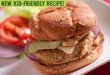 Pinto Bean & Quinoa Burger  with Romesco Mayonnaise & other Kid Friendly Recipes using Beans I The Culinary Institute of America