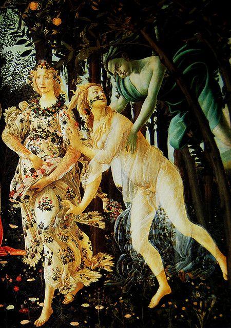 Alegoria de la Primavera de Botticelli