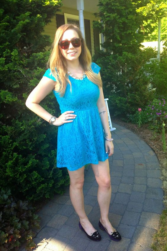 Cupcakes & Couture: What I Wore: Sunnies & Kitties