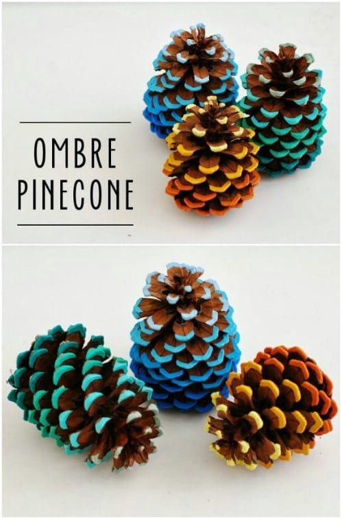20++ Fall pine cone crafts ideas