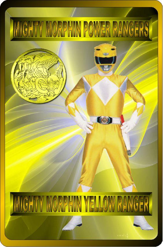 Mighty Morphin Yellow Ranger by rangeranime on @DeviantArt