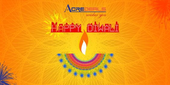ACREDEALS.COM WISHES YOU A VERY HAPPY DIWALI -- http://goo.gl/DiAfGl #realestateindia #diwali #residentialproperty