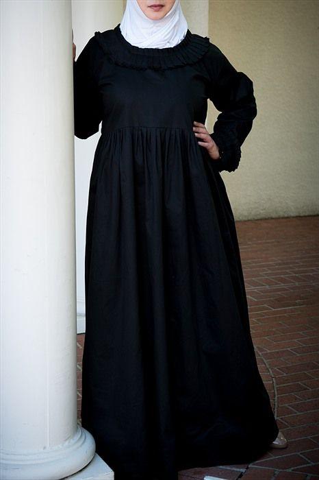 jackie o style black dress untuk