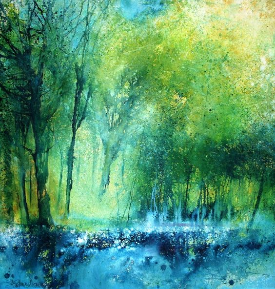 The grace of it, Stewart Edmondson #watercolor jd