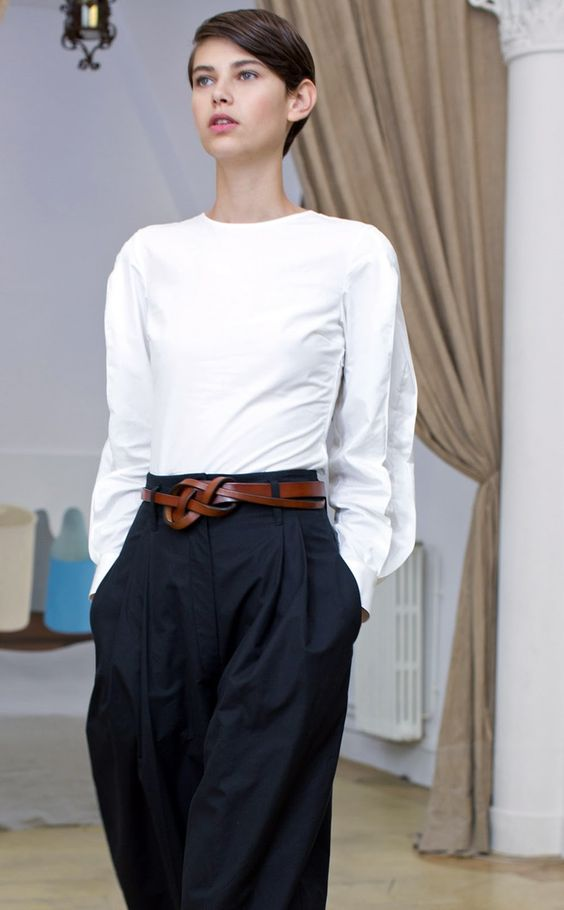 Beautiful black & white by Christophe Lemaire - 13 but it could be 16.                                                                                                                                                     More