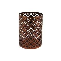 Copper Cut Out Lantern