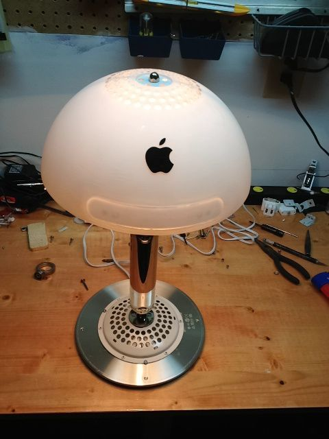 Guide for turning imac into lamp