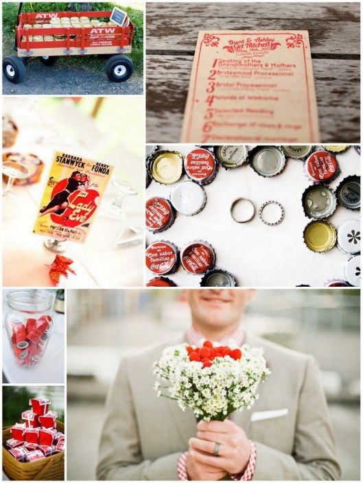 Inspiration: Red Wedding Details