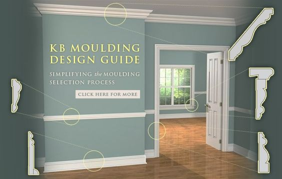 Moulding Design Guide - 12 unique millwork plans with CAD file downloads  http://www.kuikenbrothers.com/products/moulding-and-millwork/kuiken-brothers-moulding-design-guide