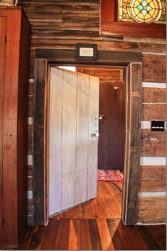 Eagles Nest at High Falls - Restoration Log Cabin Rentals