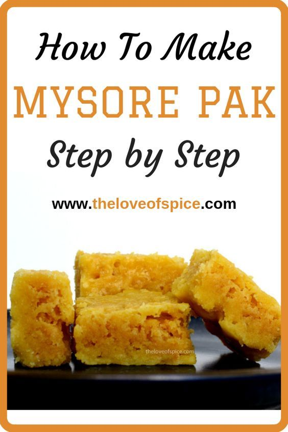 How To Make Mysore Pak Step By Step Mysore Pak Recipe All You Will Need 3 Ingredients 10 12 Minutes A Recipes Indian Dessert Recipes Indian Food Recipes