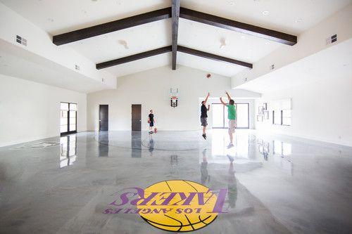 Tracy Lynn Studio Santaluz Project California Home Tour Home Basketball Court Indoor Basketball Court California Homes