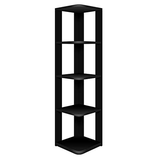 Zk Corner Shelf 5 Layer Bookcase Storage Rack Multiple Colour Plant Stand Living Room Bedroom Storage Shelf Bookcase Storage Bedroom Storage Shelves Bookcase