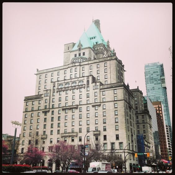 The Fairmont Hotel Vancouver in Vancouver, BC