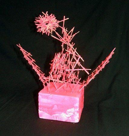 Toothpick Sculptures Art Ideas Pinterest Sculpture