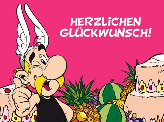 Geburtstagskarte Asterix Geburtstagskarte Karten Kostenlose Karten