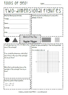Number Names Worksheets geometry 1 worksheets : Nice, Geometry and Algebra on Pinterest