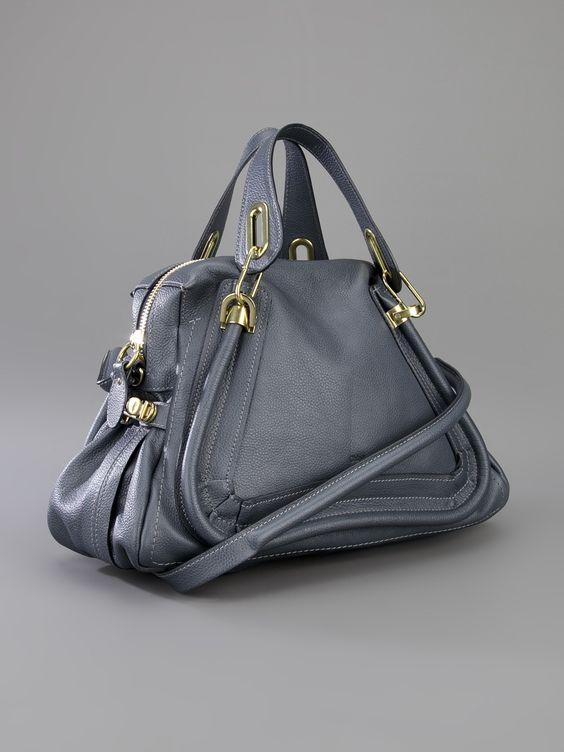 chloe python medium paraty satchel