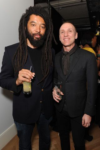 GQ Style Editor and stylist David Bradshaw (right) shown Mr Hare, styled most of Nathaniel Goldberg's shoots featuring Patrick Petitjean. He is now co-founder of HunterGather, a menswear line.