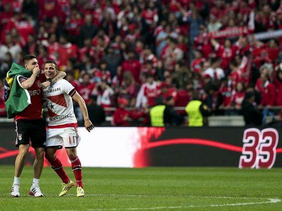 Benfica Campeão, a festa na Luz (Lusa)