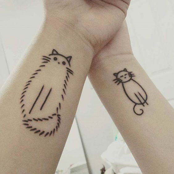 30 ideias para fazeres uma tatuagem com a tua irmã