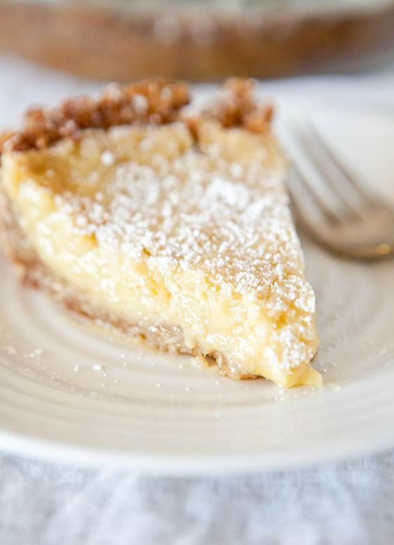 Milk Pie. Crack Pie The recipe lives up to its name and everyone ...
