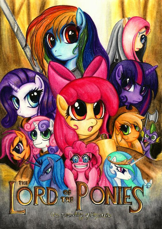 Lord of the Ponies. Awesome.